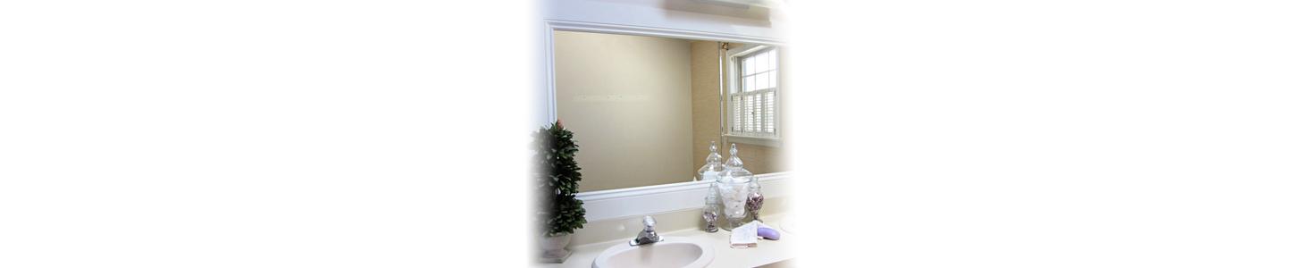 install new mirrors