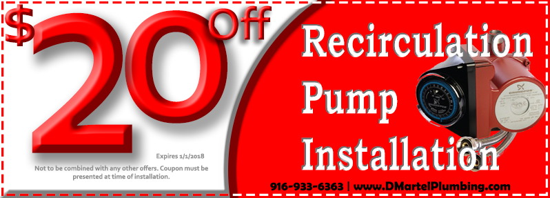 Discount Recirculation Pump Installation