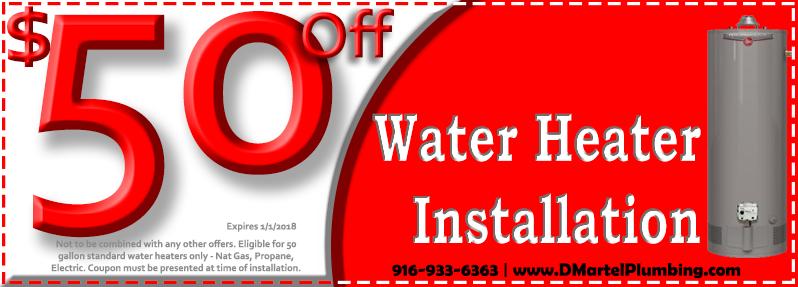 Discount Water Heater Installation