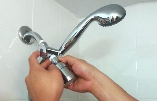 shower head installation
