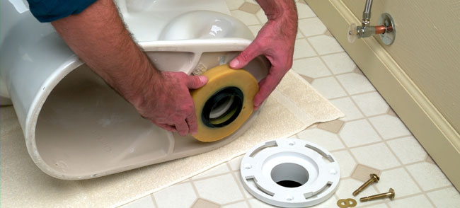toilet wax ring replacement