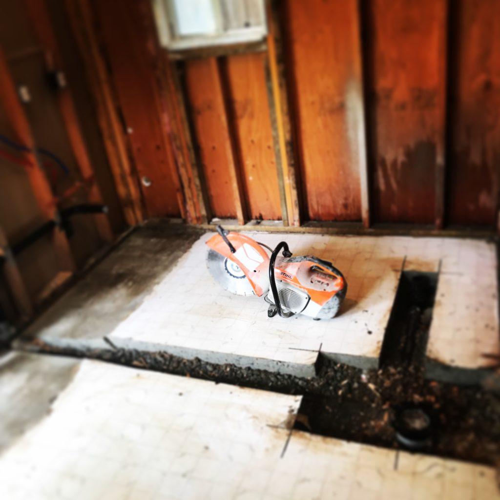 d martel plumbing bathroom remodel