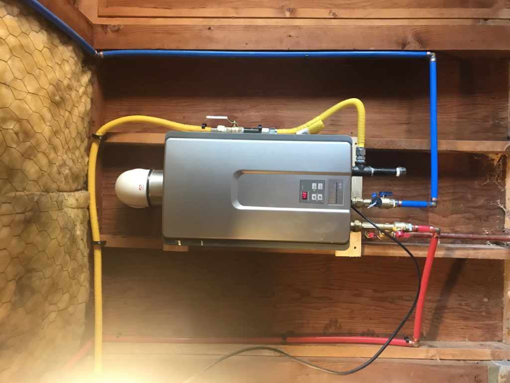 d martel plumbing tankless water heater installation