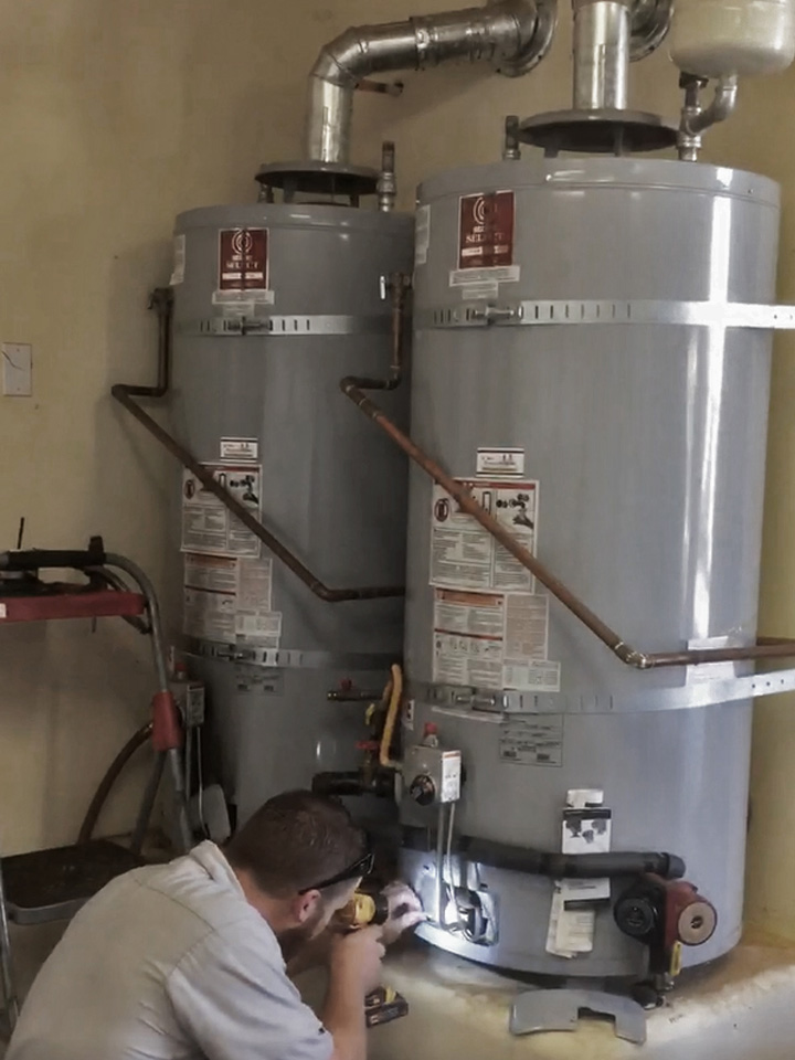 D. Martel Plumbing water heater repair water heater inspection water heater pilot light